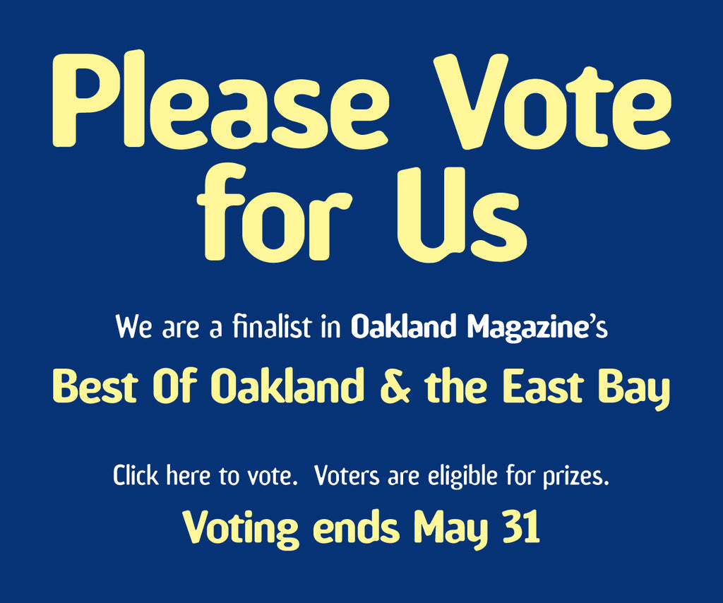 Vote for us! Oakland Magazine's Best Florist