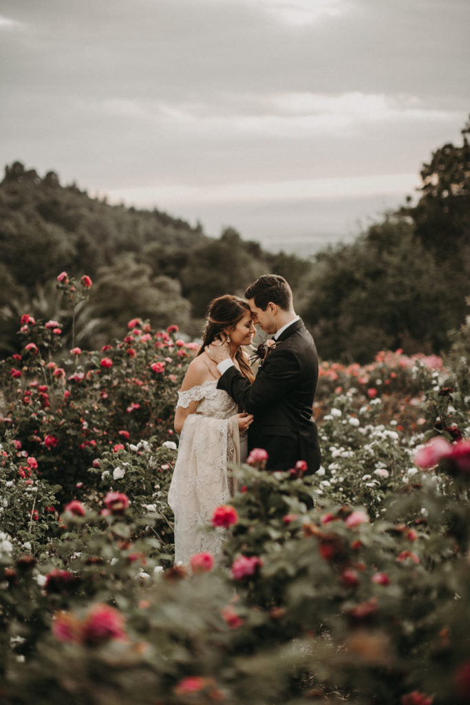 Roses all around the love. Photo by From the Daisies.