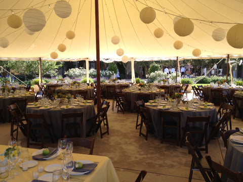 Tent at Cornerstone Sonoma County