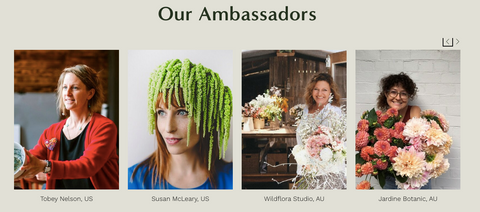 Sue McLeary, Toby Nelson and other SFN Ambassadors