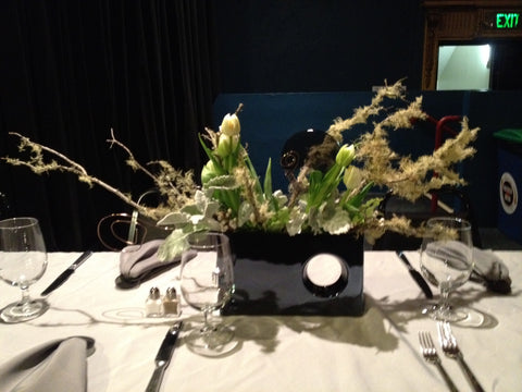 Gaffta centerpiece Warfield by Gorgeous and Green