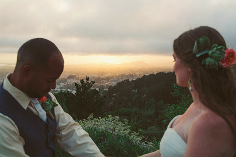 Wedding View at the Panoramic Venue in Berkeley