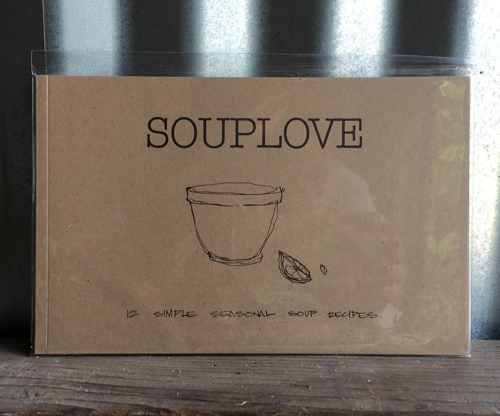 souplove; cookbook, available Tuesday 10/17