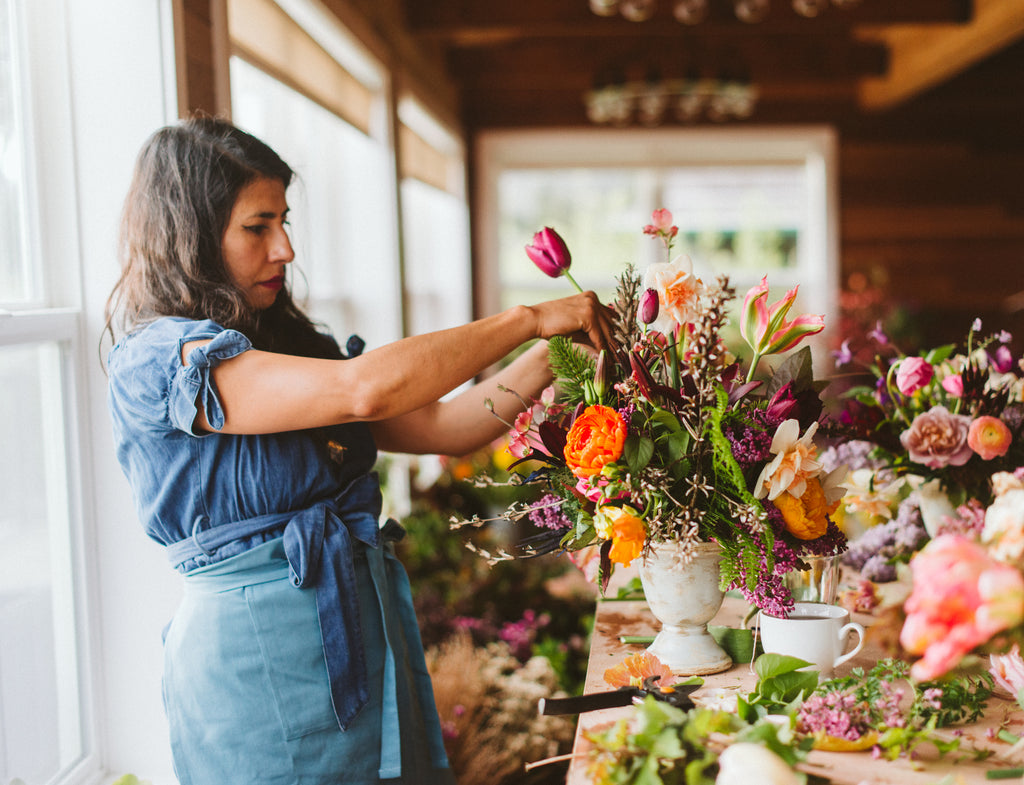 One on One Floral Design Workshop, Beginning to Intermediate (You Schedule It)