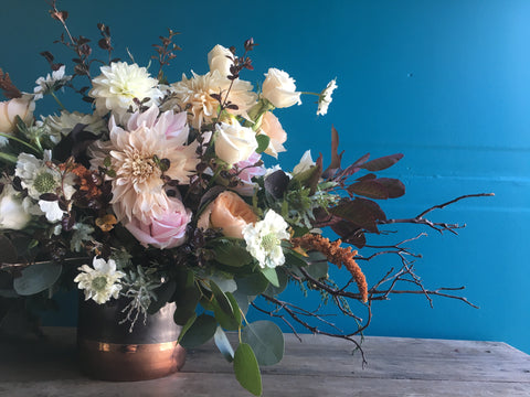 A Monthly Flower Arrangement, Available Next Day Or Later, Mon-Fri