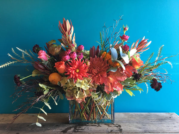 A Weekly Floral Arrangement, available next day, Mon-Fri