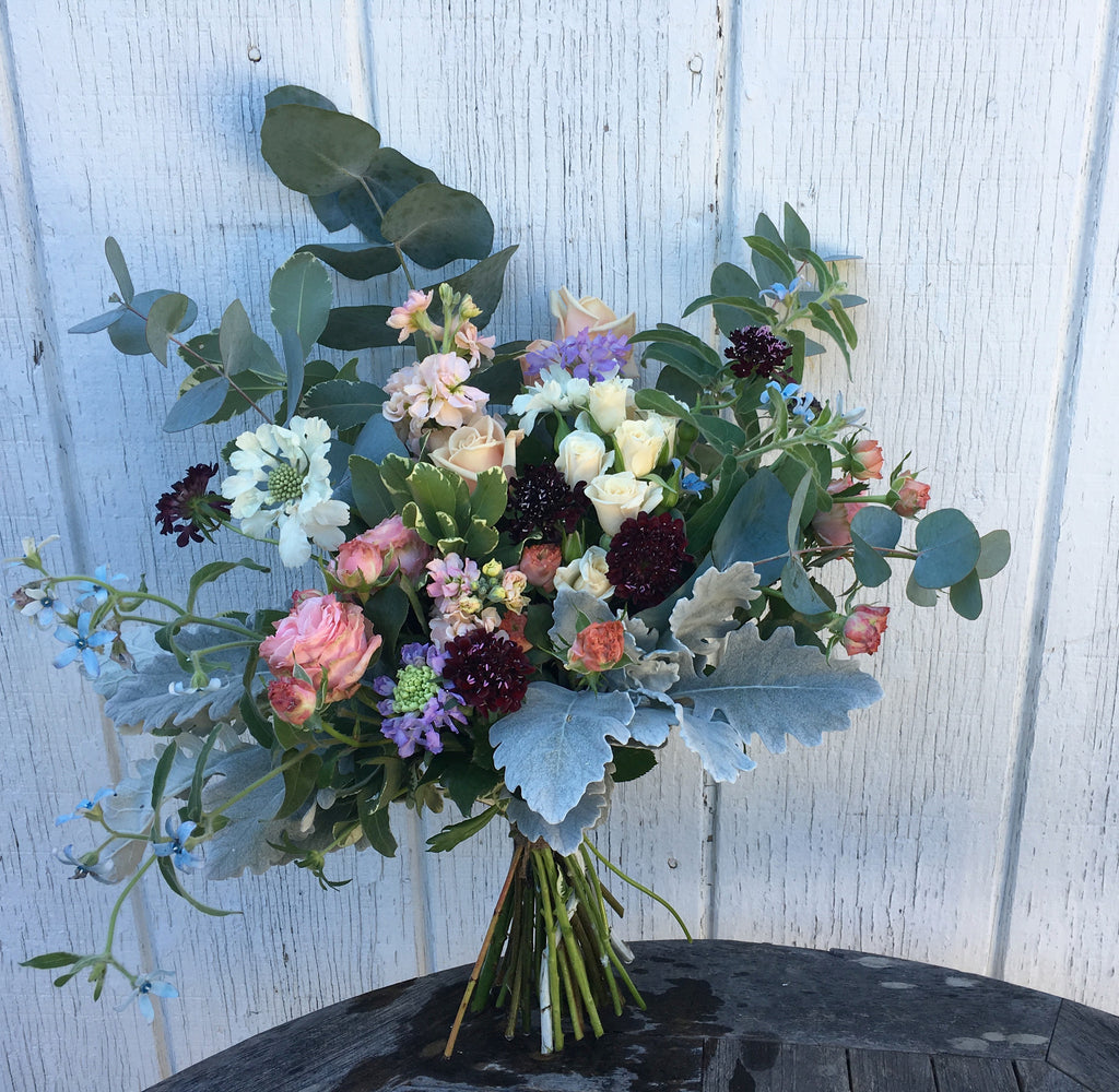 Local hand tied flowers,  available next Day or later M-F