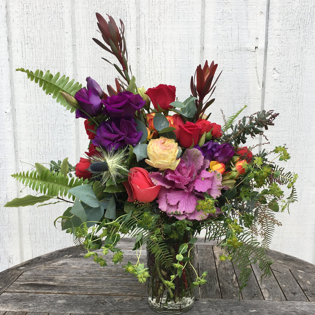 Flowers in vase next day delivery -  A Vase Of Local Flowers Available Next Day Mon Fri