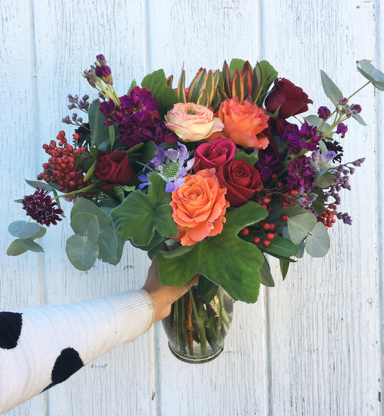 Mostly Blooms, next day delivery or later, mon-fri