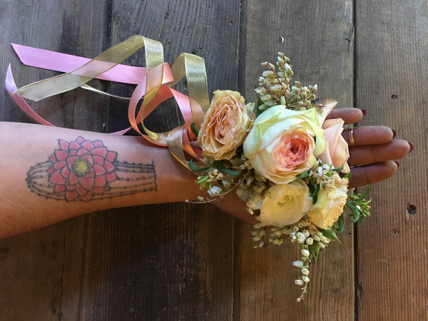 Corsage for the Wrist