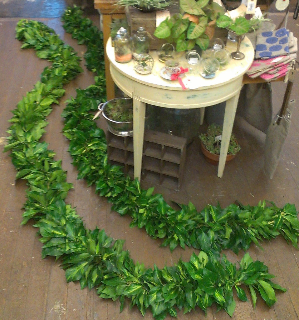 Garland of greens, priced per Foot, small event order