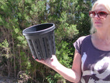 BB   10 units - web pots.....Web pot Italian #3      3 litre 19cm wide 17.5 deep.
