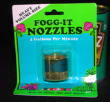 Fogg it Nozzles.  Instant fog !  Blue for extra coarse.     As used and recommended by us at AON