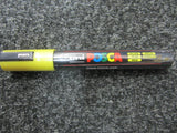 POsca Yellow paint Pen     What we use daily to write on orchid pots