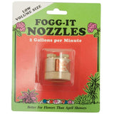 Fogg it Nozzles.   AA   Instant fog !  Orange for regular misting      As used and recommended by us at AON