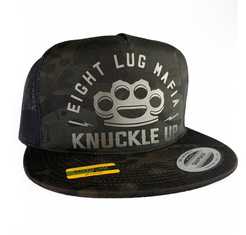 Knuckle up Snapback Trucker