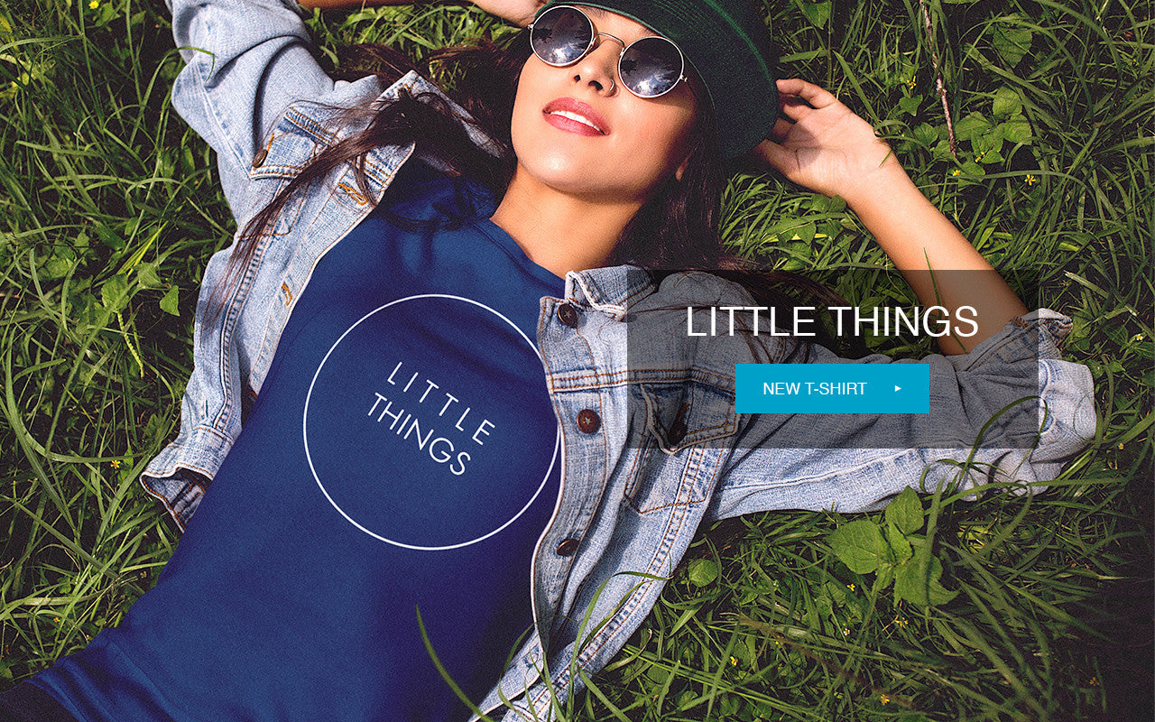 Solehab Little Things Navy T-shirt