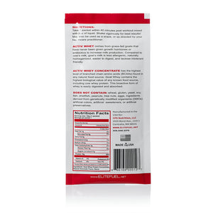 Activ Whey (Chocolate) - Single Serving Packets