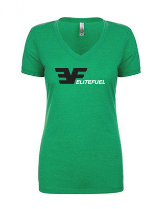 EF Green V-neck
