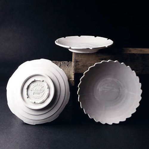 Seletti Set of 3 assorted porcelain dessert plates