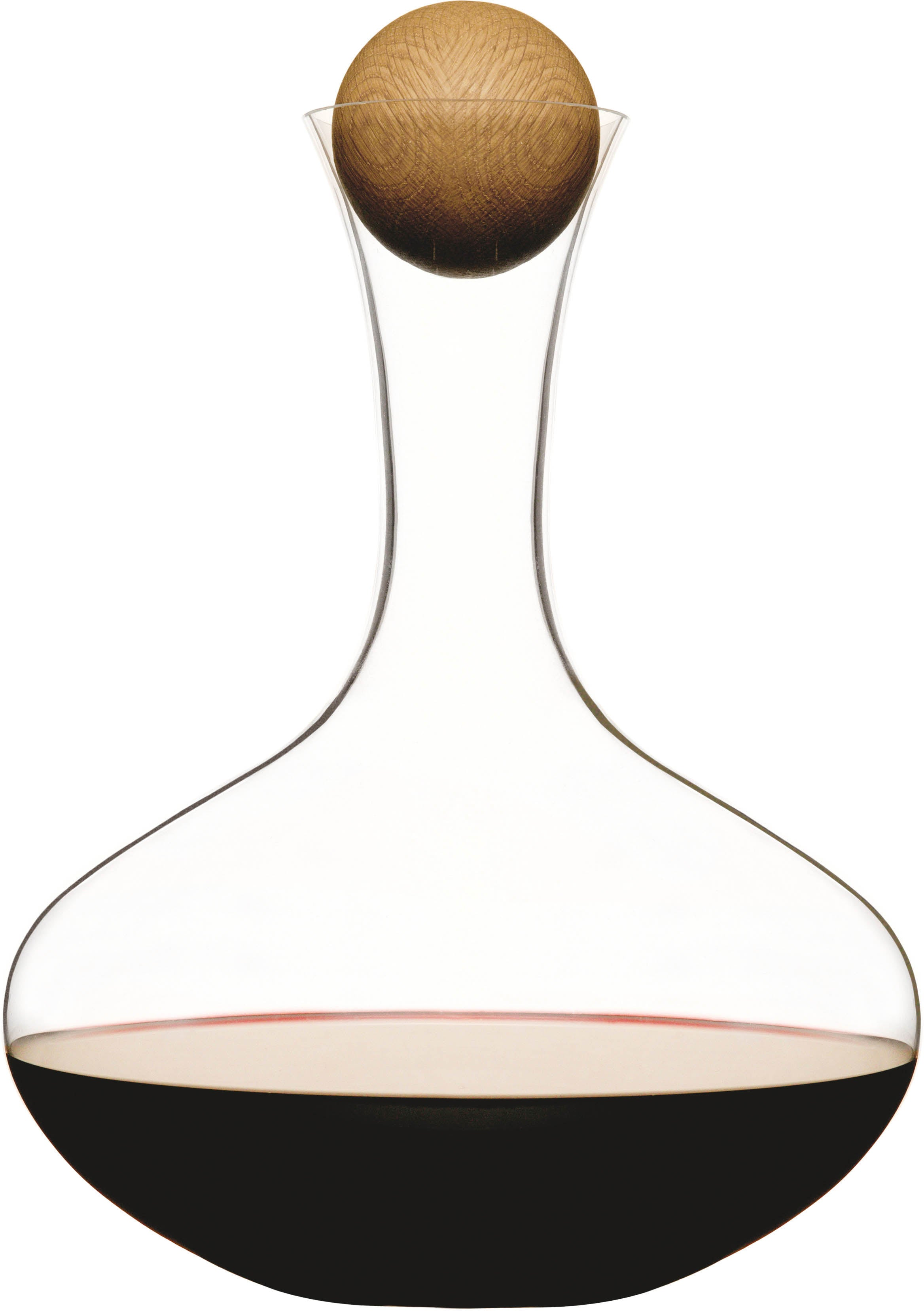 Sagaform Oval Oak Wine Carafe