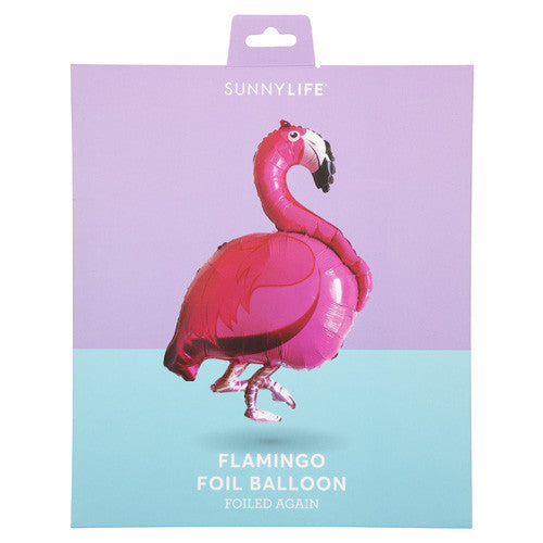 Sunnylife Foil Balloon - Flamingo