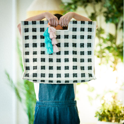 Langdon Carry Bag - Gingham