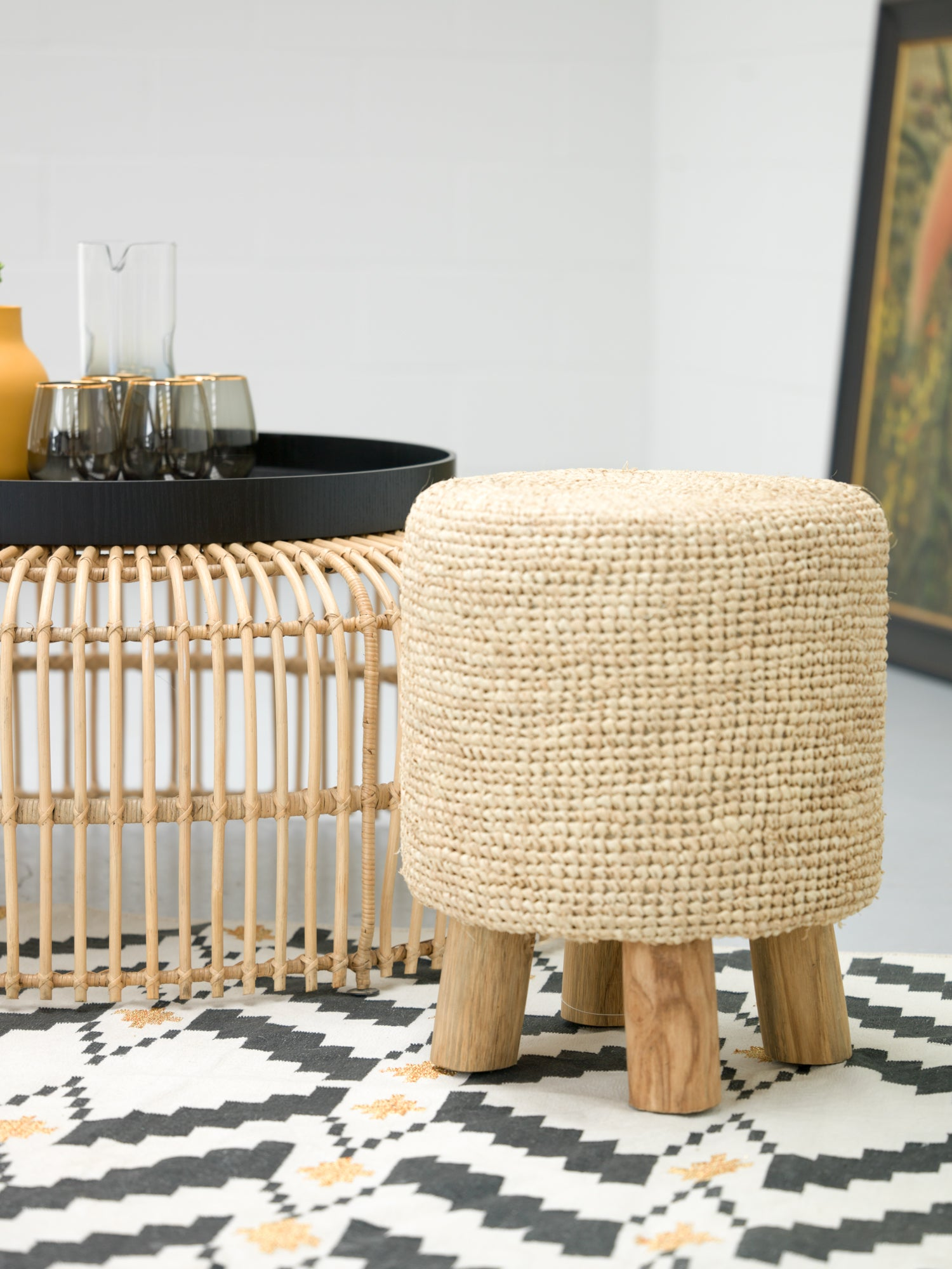 Tribu Pineapple Stool