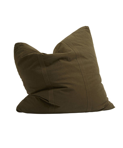 Pony Rider Commune Cushion - Natural/Black