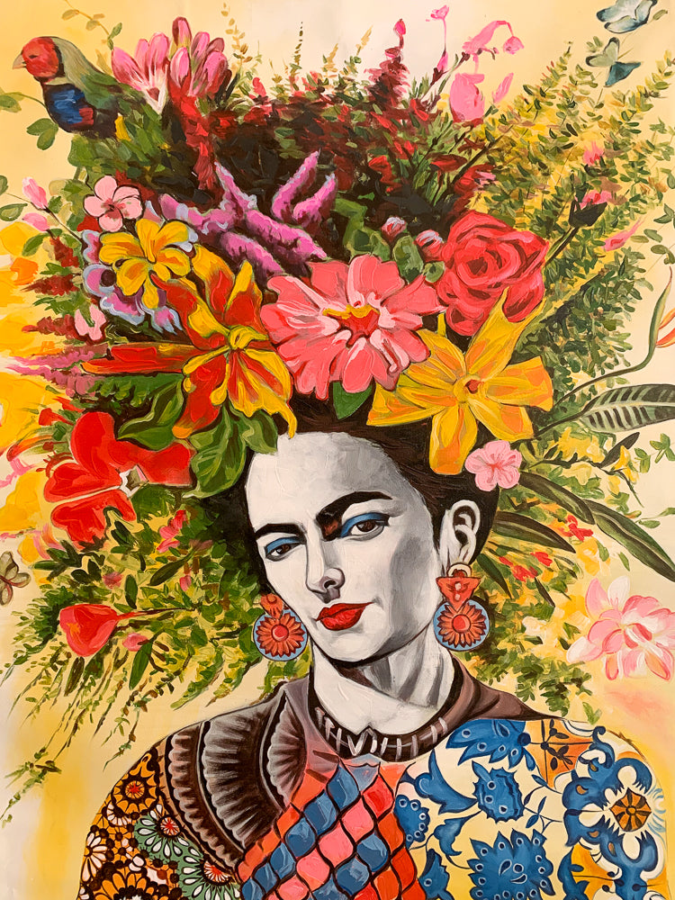 Frida Folkart / Lemon - Painting Large