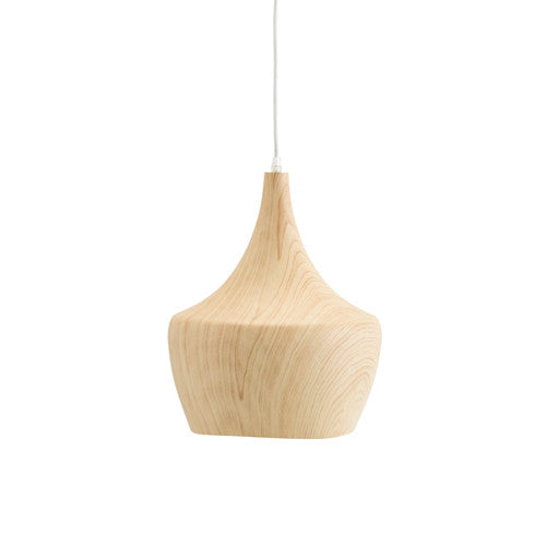 Wood Effect Ceramic Light Shade