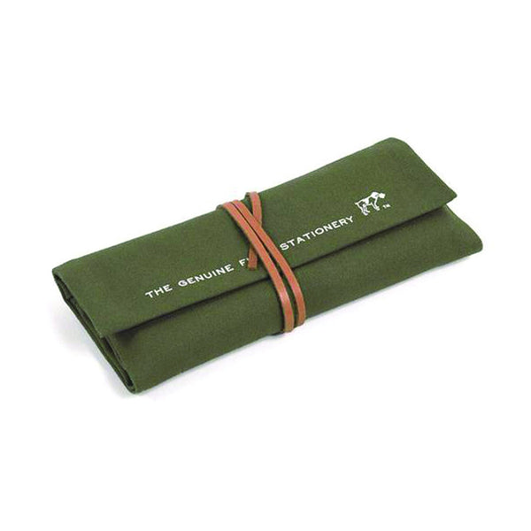 Hightide 'Field' Roll Pen Case Khaki