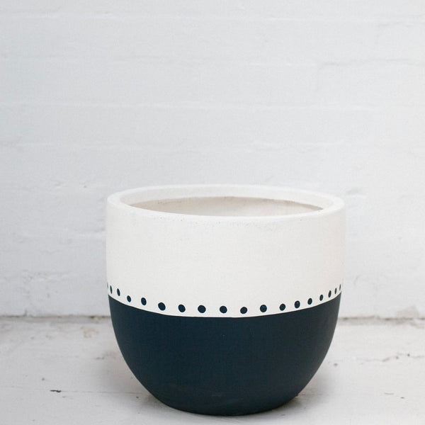 Pop & Scott - Pot Indigo Carole LRG