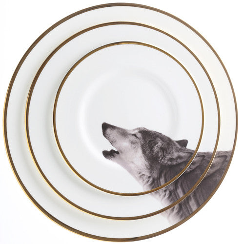 Bone China - Howling Wolf