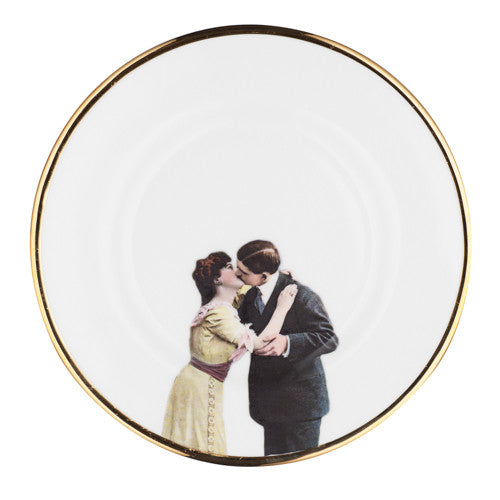 Bone China - Kissing Couple