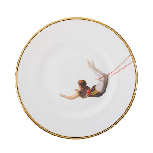 Bone China Trapeze Girl - Plate