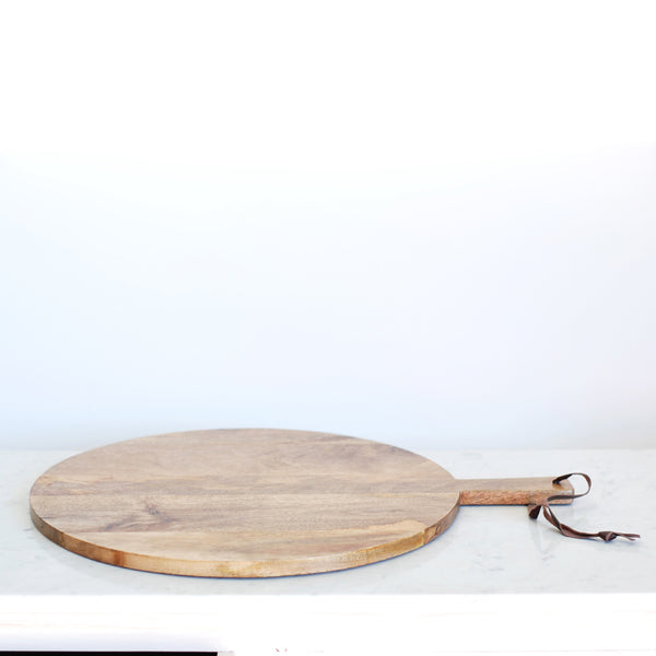 NKUKU MANGO WOOD PIZZA BOARD - LARGE
