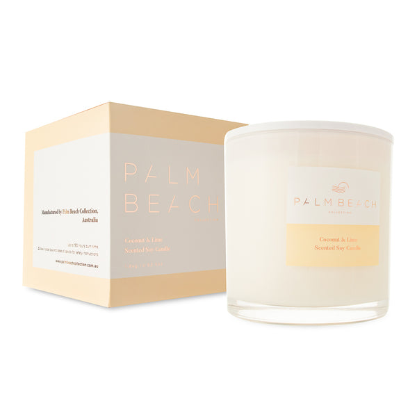 Palm Beach Deluxe Candle - Coconut & Lime