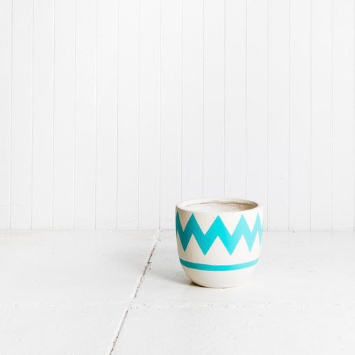 Pop & Scott - Pot Turquoise Charlie SML