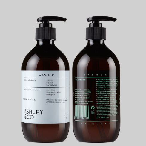 Ashley & Co WashUp Original- Vine & Paisley