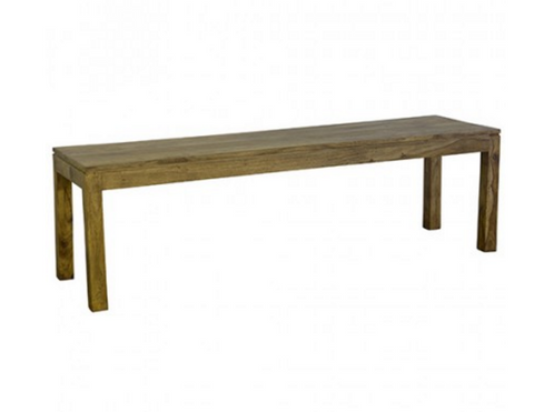 Loft Collection Wooden Bench 180cm - Natural