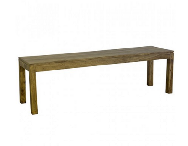 Loft Collection Wooden Bench 110cm - Natural