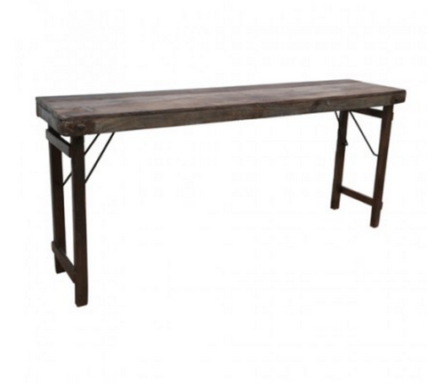 Edt & Co - Antique Timber Folding Console