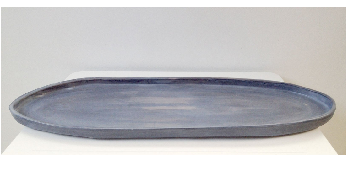 Batch Oval Platter Large - Ink