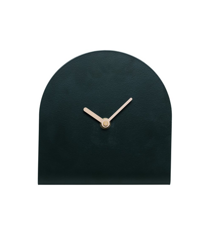 Milk & Sugar Thea Table Clock - Forest