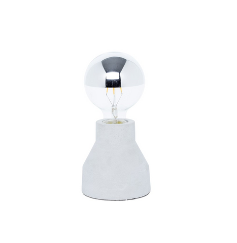 Milk & Sugar Scout Concrete Lamp Short