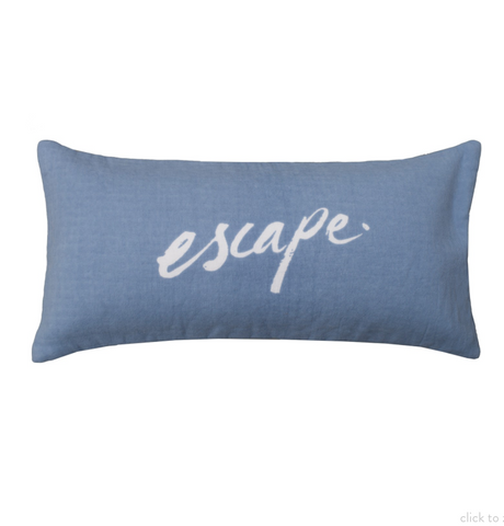 Beach People Beach Cushion - Escape