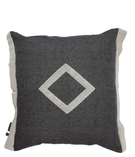Pony Rider Misty Creek Cushion - Natural/Black