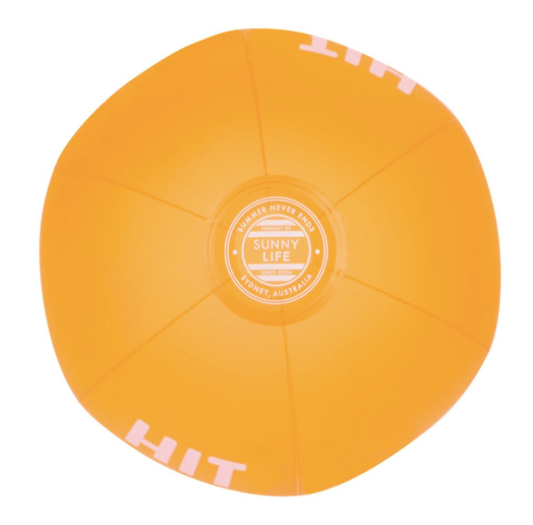 Sunnylife Ball - Neon Orange