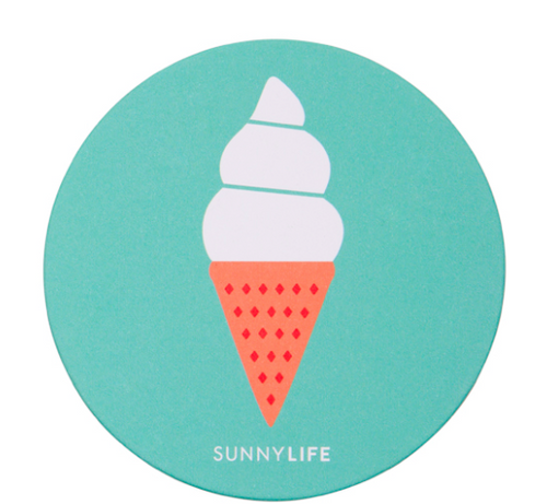 Sunnylife Coaster 16 Set - Ice Cream